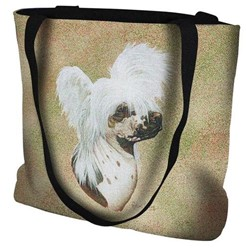 Chinese Crested Tapestry Tote Bag