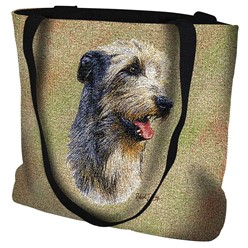 Irish Wolfhound Tapestry Tote Bag
