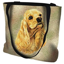 Cocker Spaniel Blonde Tote Bag