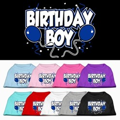 Birthday Boy Pet Tee