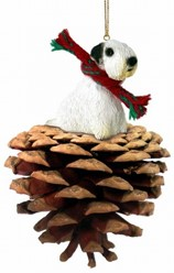 Pine Cone Sealyham Terrier Dog Christmas Ornament