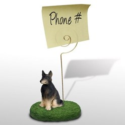 Belgian Tervuren Dog Memo Holder