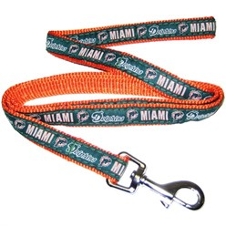 Miami Dolphins NFL Dog Lead