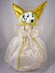 Dalmatian Angel Tree Topper
