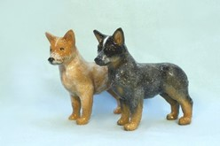 Australian Cattle Dog Blue Ribbon Figurine