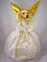 Golden Retriever Angel Tree Topper