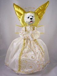 West Highland Terrier Angel Tree Topper