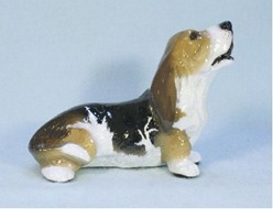 Basset Hound Ron Hevener Limited Edition Dog Figurine