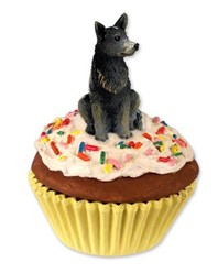 Australian Cattle Dog Pupcake Trinket Box
