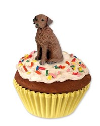 Chesapeake Bay Retriever Pupcake Trinket Box