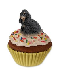 Cocker Spaniel Pupcake Trinket Box