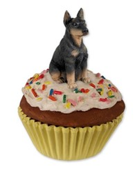 Doberman Pupcake Trinket Box