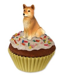 Finnish Spitz Pupcake Trinket Box