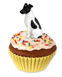 Smooth Fox Terrier Pupcake Trinket Box
