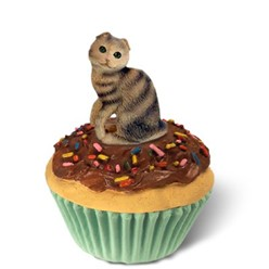 Scottish Fold Cat Kittycake Trinket Box- click for more breed colors