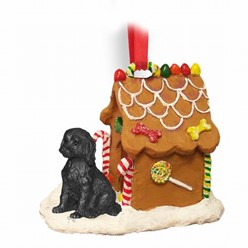 Labradoodle Gingerbread Christmas Ornament