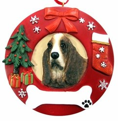Basset Hound Christmas Ornament That Can Be Personalized