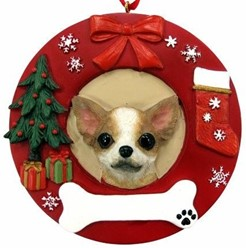 Chihuahua Christmas Ornament That Can Be Personalized