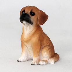 Puggle Tiny One Dog Figurine