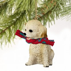 Cockapoo Christmas Ornament- click for more breed colors