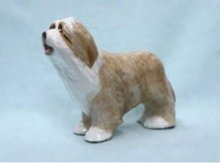 Bearded Collie Ron Hevener Limited Edition Dog Figurine