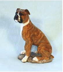 Boxer Ron Hevener Limited Edition Dog Figurine