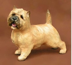 Cairn Terrier Ron Hevener Limited Edition Dog Figurine