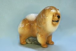 Chow Ron Hevener Limited Edition Dog Figurine