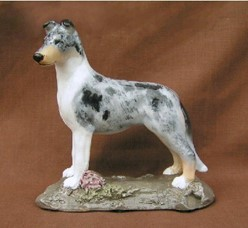 Smooth Collie, Ron Hevener Limited Edition Dog Figurine