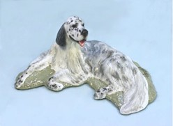 English Setter, Ron Hevener Limited Edition Dog Figurine