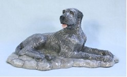 Irish Wolfhound, Ron Hevener Limited Edition Figurine