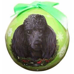 Poodle Ball Christmas Ornament