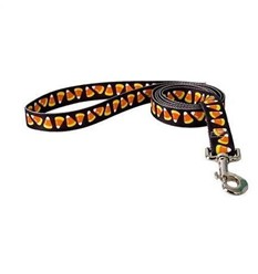 Candy Corn Halloween Leash, Made in the USA