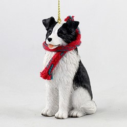 Border Collie Original Christmas Ornament