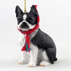 Boston Terrier Original Christmas Ornament