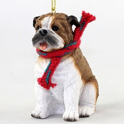 Bulldog Original Christmas Ornament