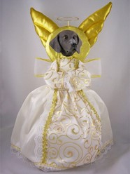 German Shorthaired Pointer Angel Tree Topper