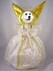 Great Pyrenees Angel Tree Topper
