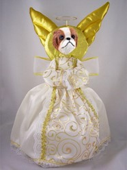 Japanese Chin Angel Tree Topper