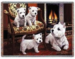 Dog Breed Throws, Dog Afghans, Dog Lap Squares, Dog Blankets