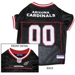 Arizona Cardinals Pet Football Jersey