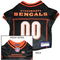 Cincinnati Bengals Pet Football Jersey