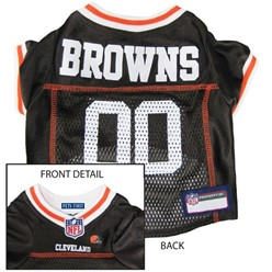 Cleveland Browns Pet Football Jersey