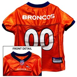 Denver Broncos Pet Football Jersey