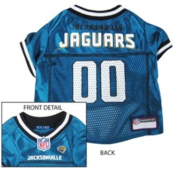 Jacksonville Jaguars Pet Football Jersey