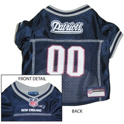 New England Patriots Pet Football Jersey