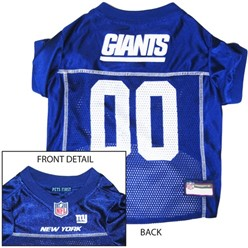 New York Giants Pet Football Jersey