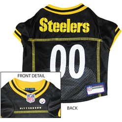 Pittsburgh Steelers Pet Football Jersey