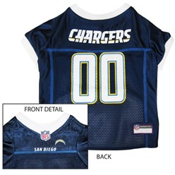 San Diego Chargers Pet Football Jersey