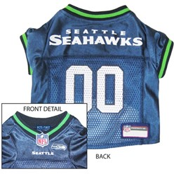 Seattle Seahawks Pet Football Jersey